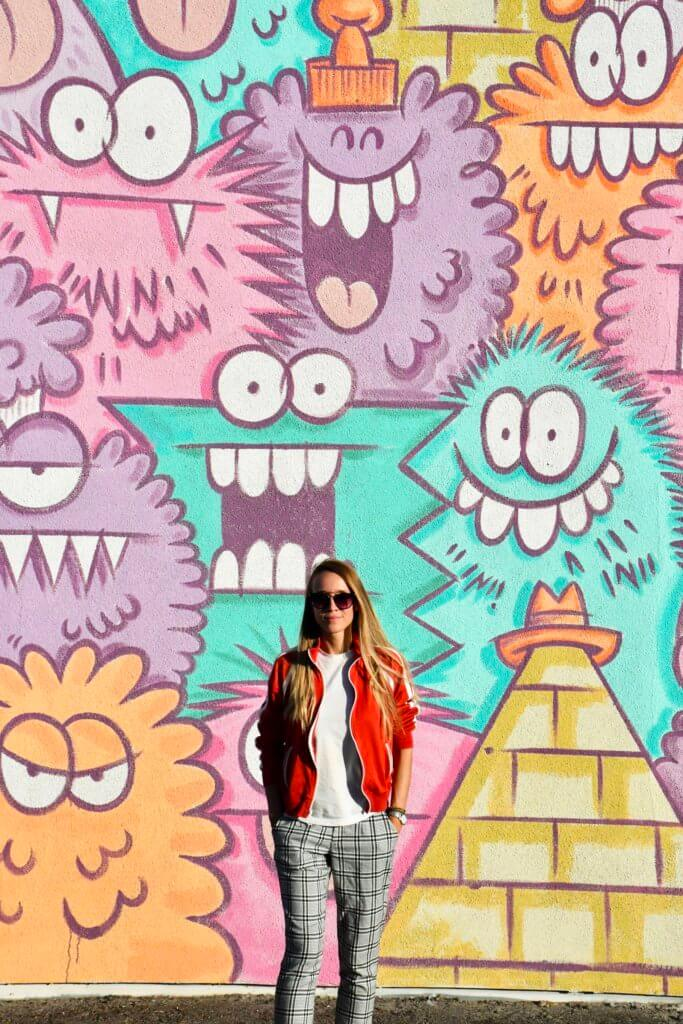 Downtown Fremont Street murals