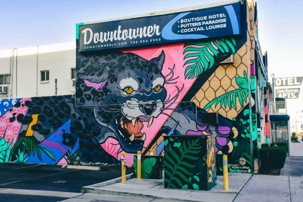 The Downtowner Motel Las Vegas