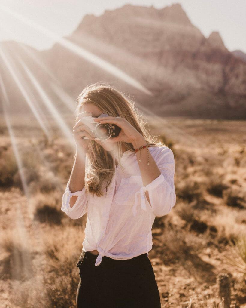 Hiking at Red Rock Canyon Las Vegas