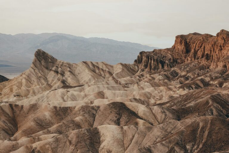 Hiking near Zabriskie Point is one of the best things to do in Death Valley