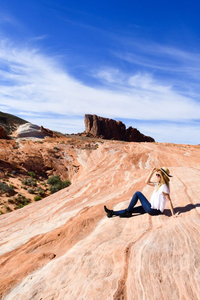 Visiting Valley of Fire in Nevada