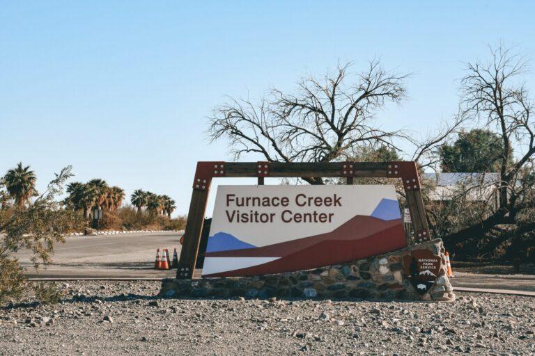 Furnace Creek Visitor Center in Death Valley National Park