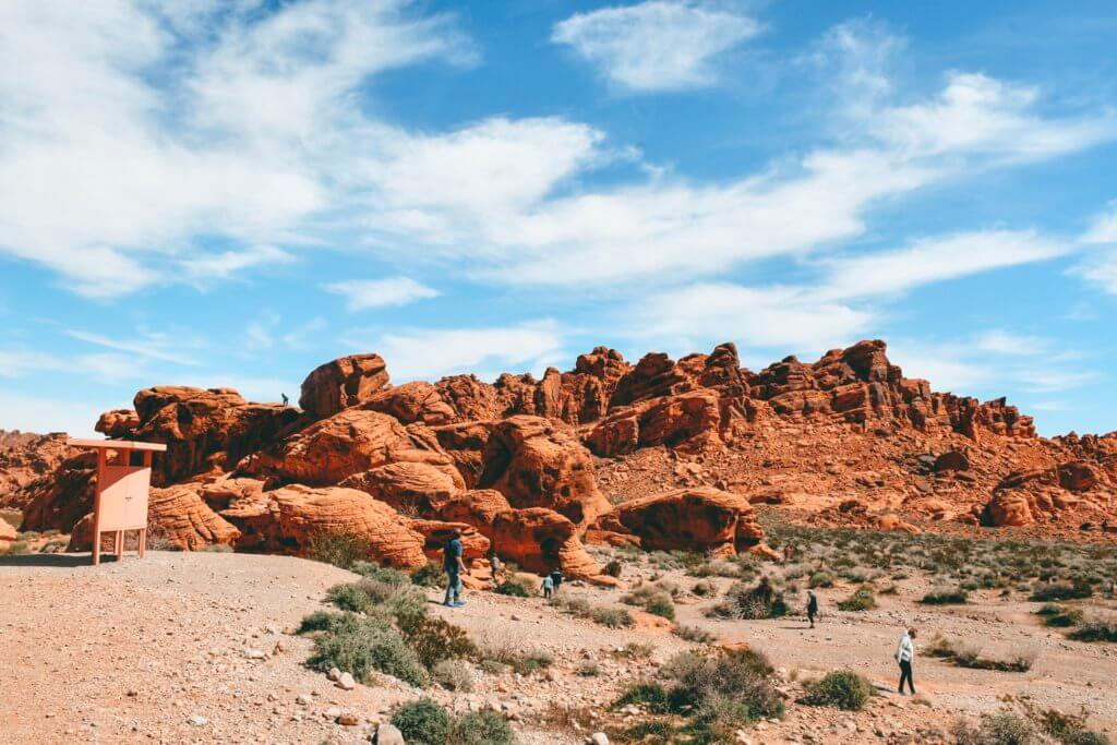 The Beehive, Valley of Fire State Park, Nevada