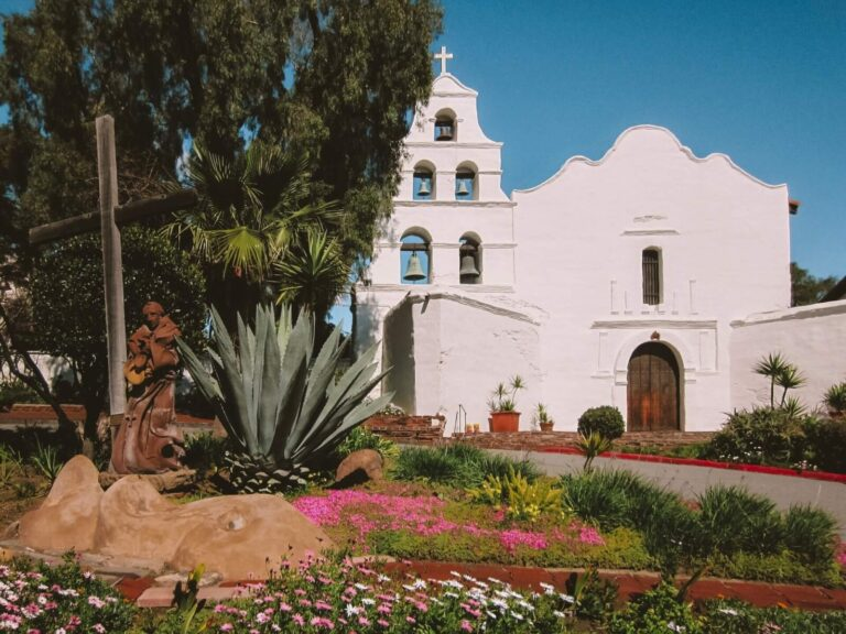 Mission San Diego de alcala is one of the top things to do in San Diego