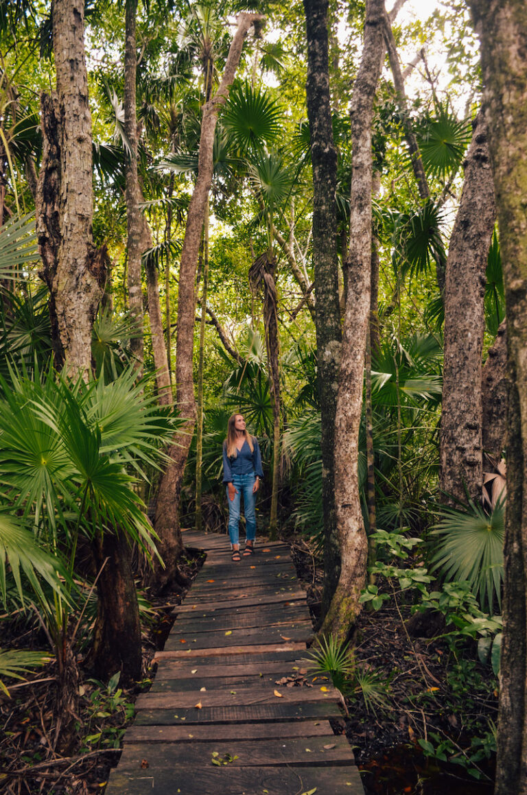 Muyil is is one of the best places to visit near Tulum