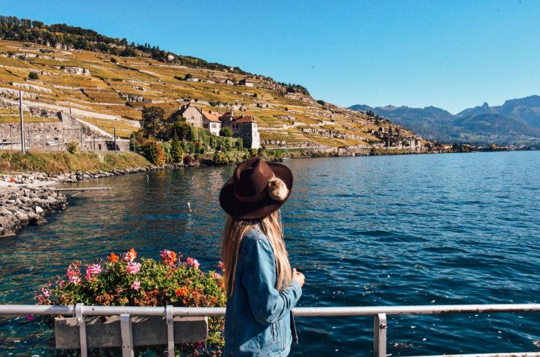 How to visit Lavaux Switzerland wine terraces