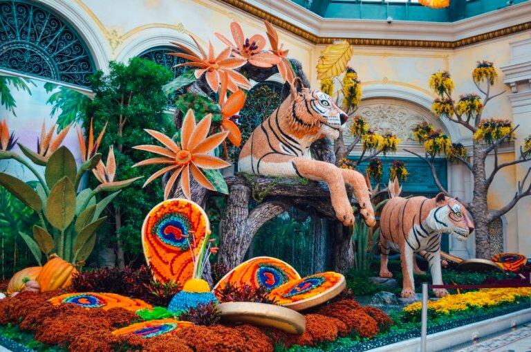 Bellagio Conservatory and Botanical Gardens