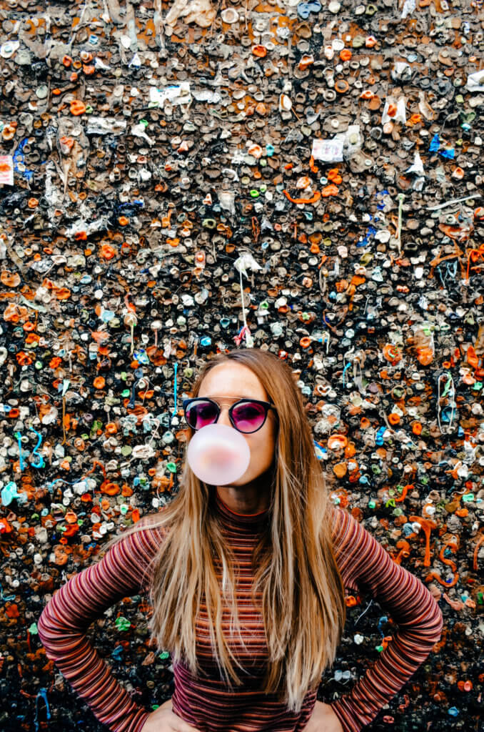 Bubblegum Alley San Luis Obispo California