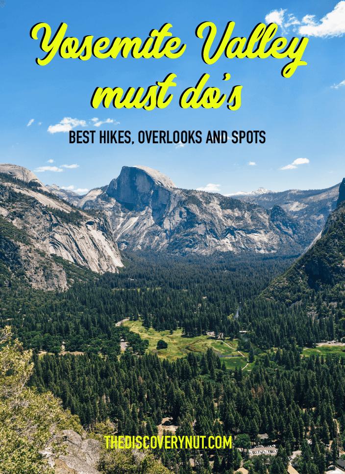 Yosemite Best Hikes