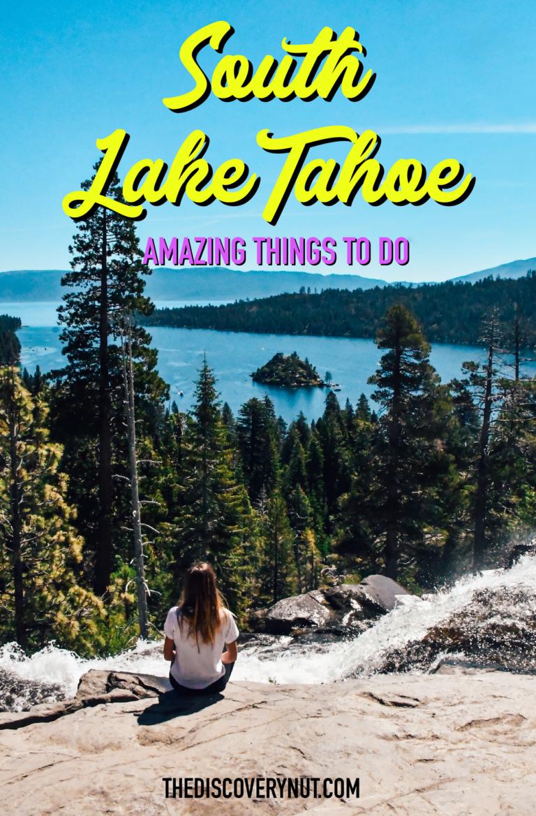 South Lake Tahoe fun things to do