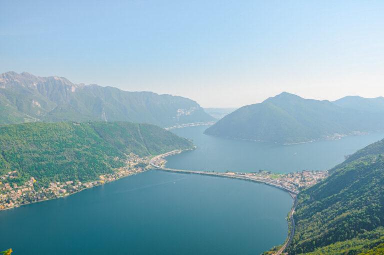 Monte San Salvatore near Lugano