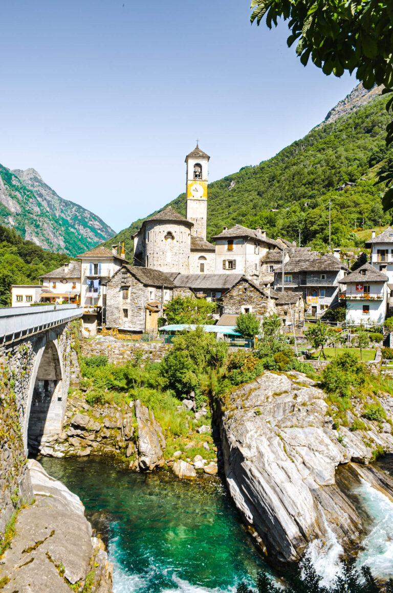 Lavertezzo in Ticino Switzerland