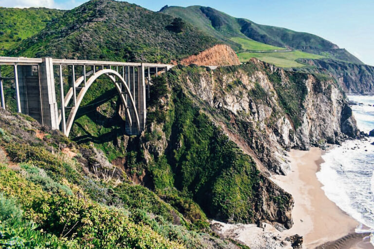 Big Sur in California is one of the best places to visit in the United States